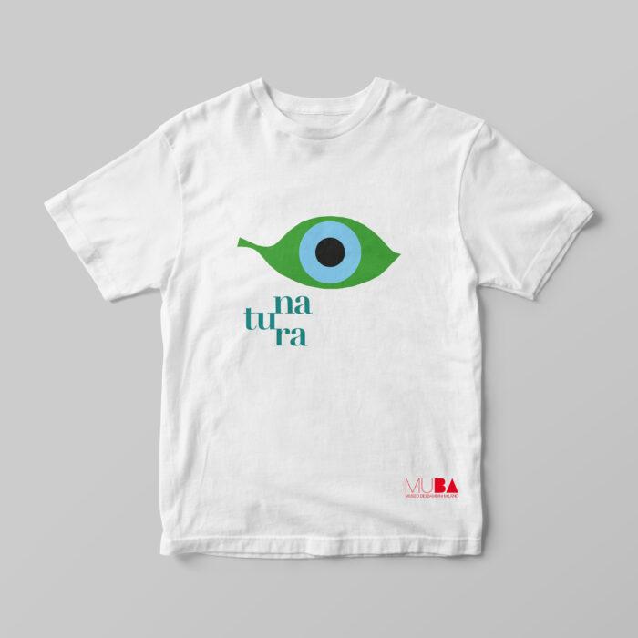 T-shirt NATURA Bianca - MUBA